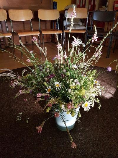 Blumen zur Jahreshauptversammlung