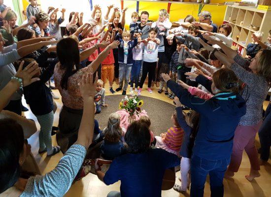 Gemeinsam Feiern in der Schule