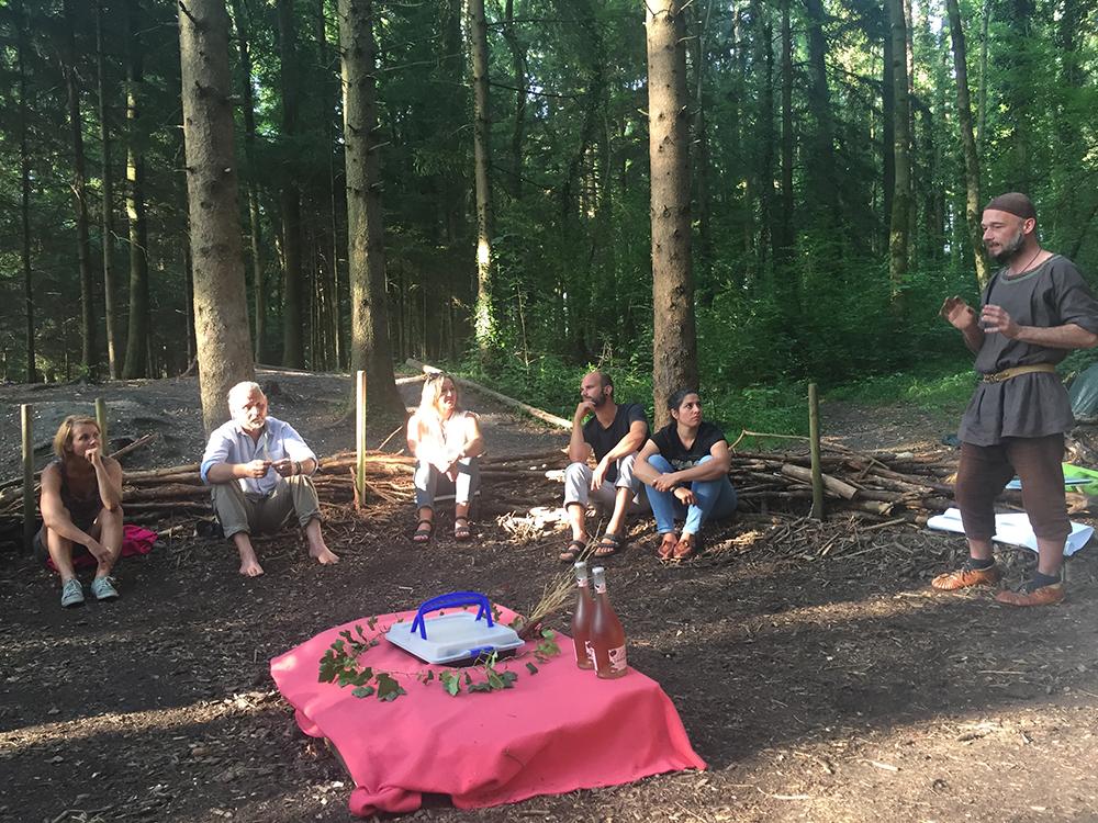 Elternabend im Wald